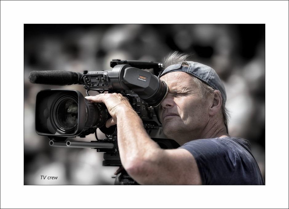 RTL 7 filmploeg Foto Sterkste man van Nederland Finale Meppel