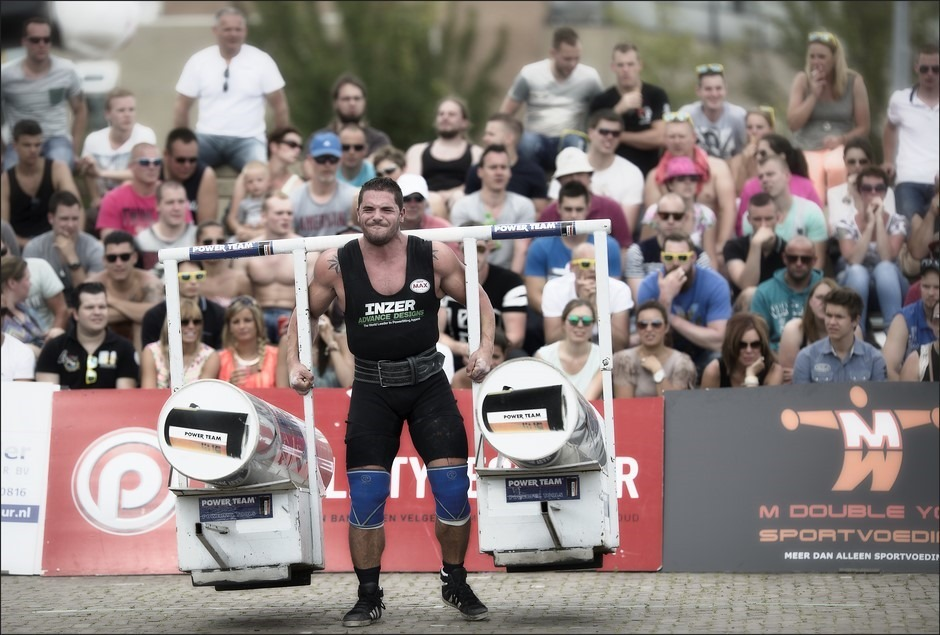 Sterkste man van Nederland Foto Meppel Foto Yoke Race