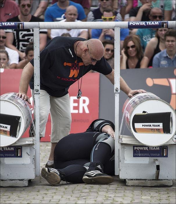 Sterkste man van Nederland Foto Yoke Race