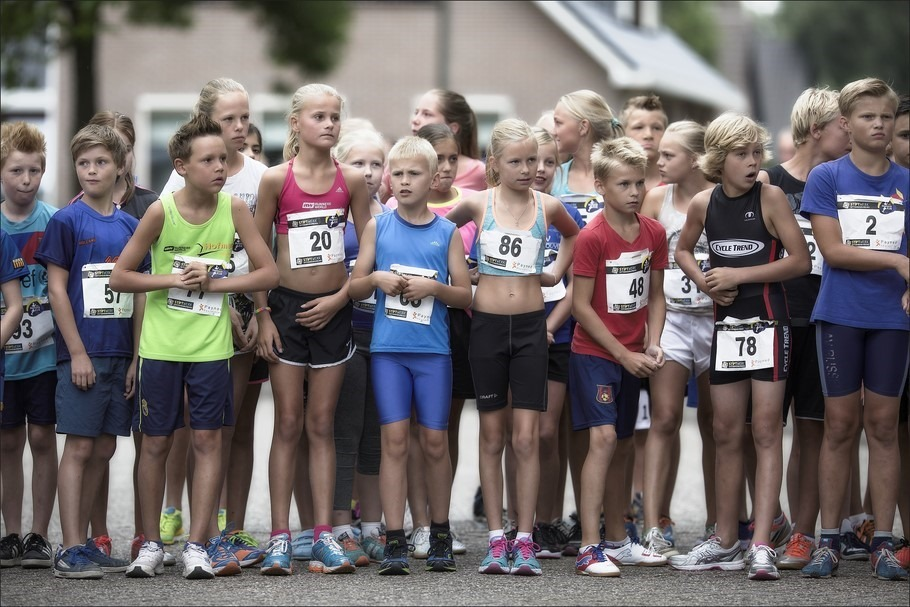 Staphorst Run Foto Kids Run Foto Staphorst