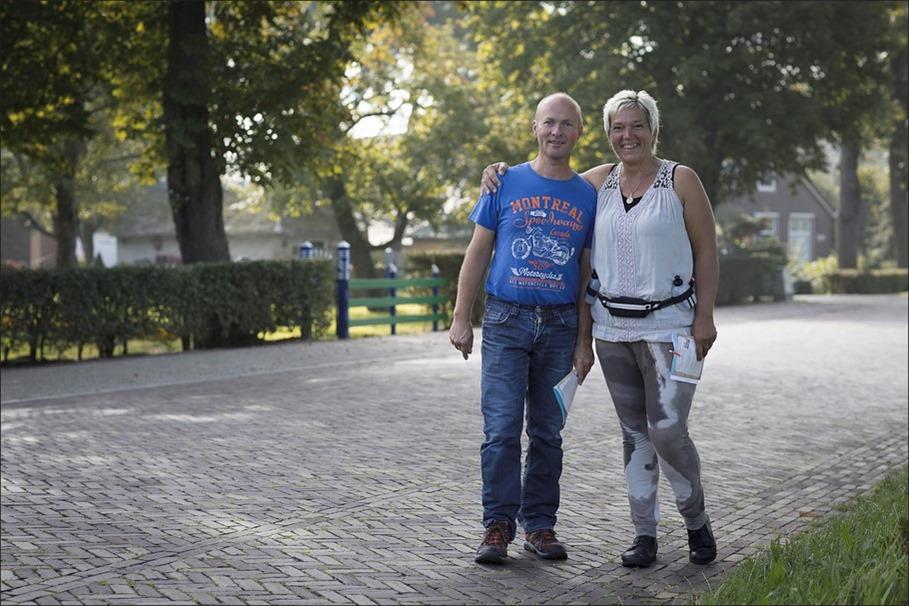 Staphorst Foto Staphorster Diekloop Foto Diekloop