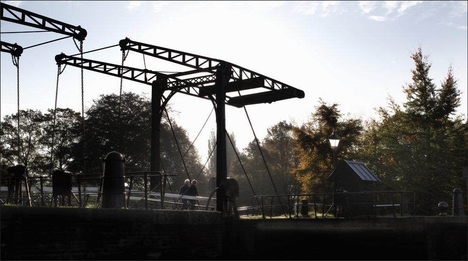 Katerveerdijk Foto Katerveersluis Foto Ophaalbrug Foto Zwolle Foto Spoolde Foto Tegenlicht Foto Tegenlichtfotografie