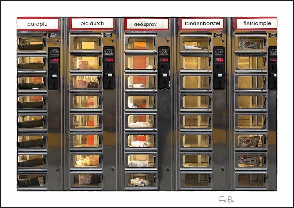 Febo Foto Station Foto Febo Kroket Foto Perron Foto Trekautomaat Foto Febo Snack