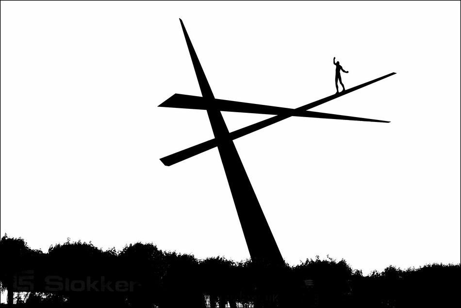 Harderwijk Foto Kunst Foto Hubertus van der Goltz Foto Slokker Vastgoedontwikkeling Foto Een Wankel Evenwicht Foto Minimalisme Foto Minimalistisch