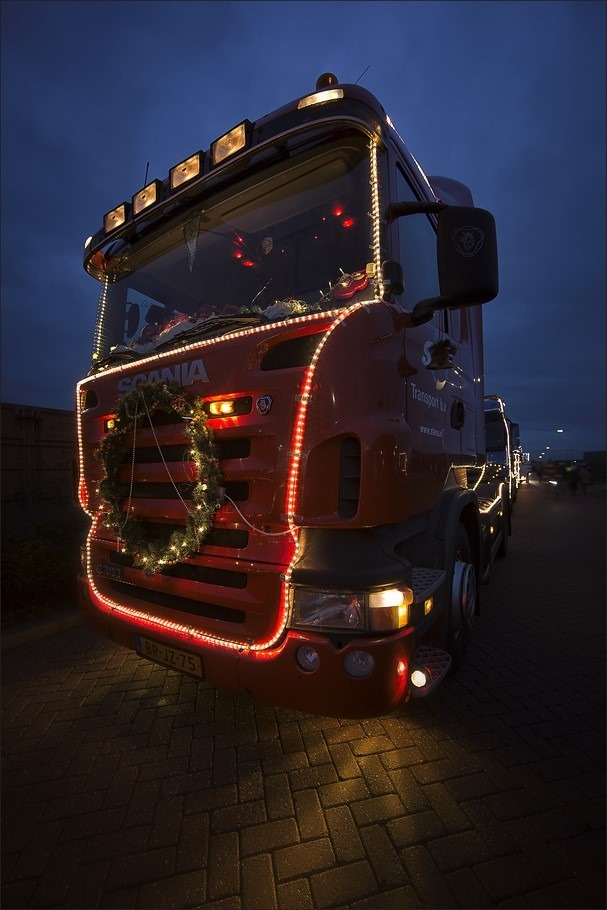 Staphorst Foto Trucks by Night Foto Staphorst Foto Verlichte Trucks