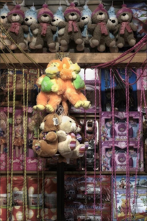 touwtje Trekken Foto Touwtje Trekken Kermis Foto Attractiepark Slagharen Foto Ponypark Slagharen Foto Altijd Prijs