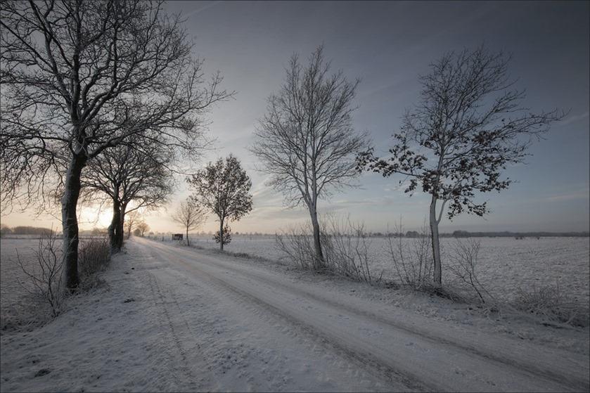 Ouderwetse Winter Foto Staphorst Foto Echte Winter Foto Winter Foto Winterweer Foto Winters van Vroeger