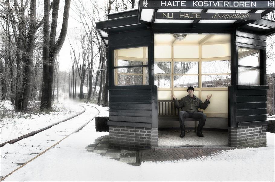Openluchtmuseum Arnhem Foto Openluchtmuseum Foto Nederlands Openluchtmuseum Foto Tramhalte Foto Aangepaste Dienstregeling Foto Halte