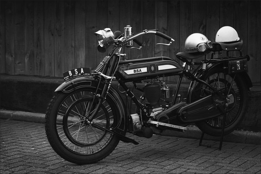 BSA Foto B.S.A Foto Birmingham Small Arms Foto VMC Foto Veteraan Motoren Club Foto Klassieke Motor Foto Klassieker Foto Oldtimer Motor