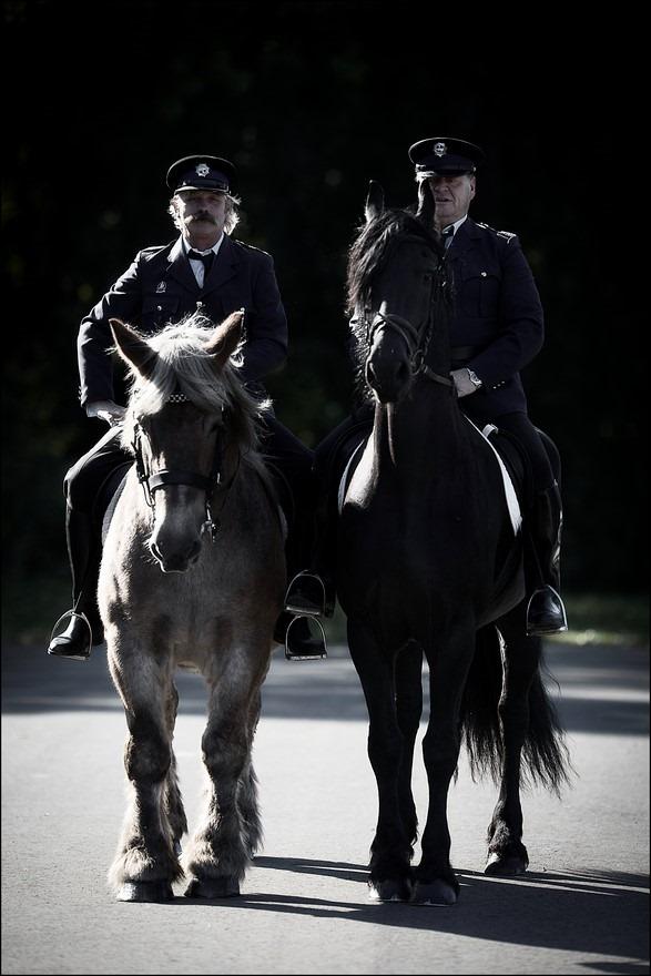 Bokbierdag Zutphen Foto Bokbierdag Zutphen 2015 Foto Bokbierdag Foto Politie te Paard Foto Politiepaard Foto Belgisch Trekpaard Foto Belgische Knol