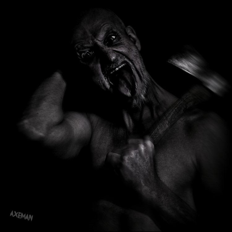 Horror Fotografie Foto Horrorfotografie Foto Fiday the 13th Foto Vrijdag de 13e Foto Axeman Foto Seriemoordenaar Foto Serial Killer Foto Zombie