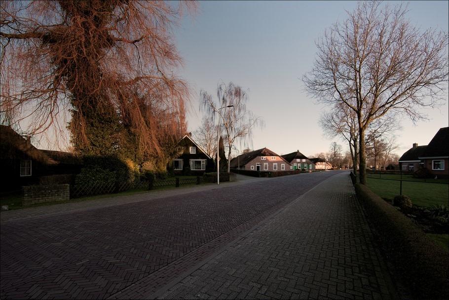 Staphorst Foto Rouveen Foto Treurwilg Foto Treurboom Foto Avondgloed Foto Zonsondergang