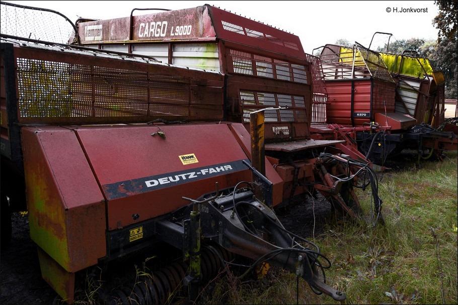 Staphorst Foto Graswagen Foto Ergens in het Staphorsterveld Foto Staphorsterveld Foto Landbouwmachine Foto Afgedankte Landbouwmachine Foto Deutz-Fahr Foto Klaas Kloosterweg