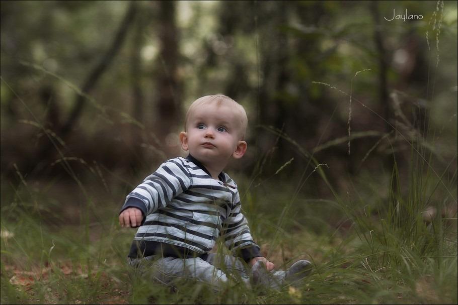 Jaylano Foto Sprietjes Foto Halmen Foto Fotoshoot in het bos Foto Kinderfotografie Foto Ondekken van je omgeving Foto Grashalmen Foto Grassprietjes