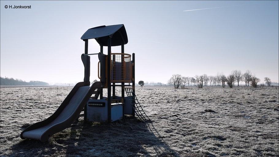 Staphorst, Staphorsterveld, verlaten speelplaats, speelplaats, speeltuin, Haverveld Staphorst, de Slagen Staphorst, speeltoestel, verlaten speeltuin, Fujifilm XT2