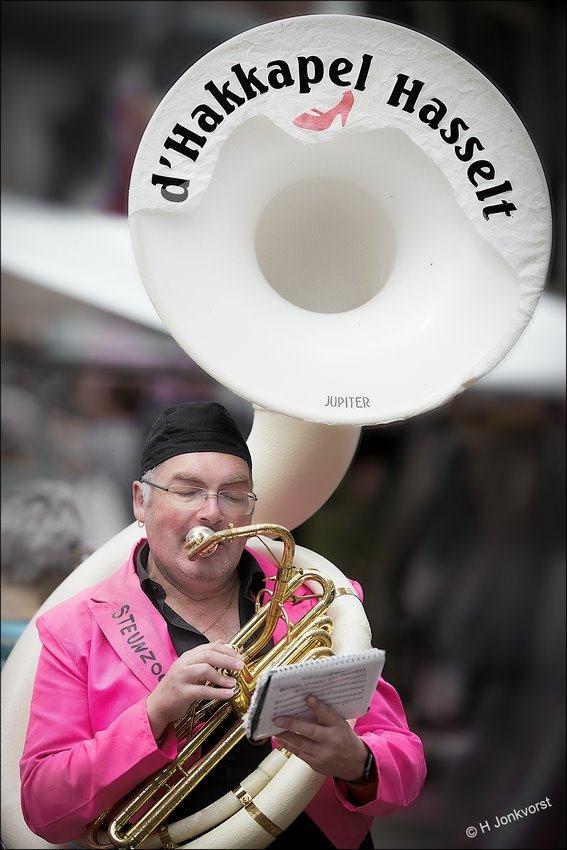OBN Dweildag Hasselt 2017, OBN Hasselt, Dweildag Hasselt, OBN Dweildag Hasselt, d' Hakkapel Hasselt, Hasselt, Sousafoon, blaasinstrument, Sousafoon Jupiter