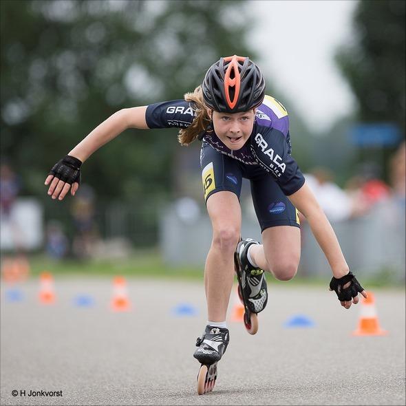 Staphorst, Skeeleren, Sprint 100 meter, Stouwdam Competie Staphorst, Skeeleren 100 meter sprint, Skeelercompetitie, sport, Skeelersport, Skeelerwedstrijd