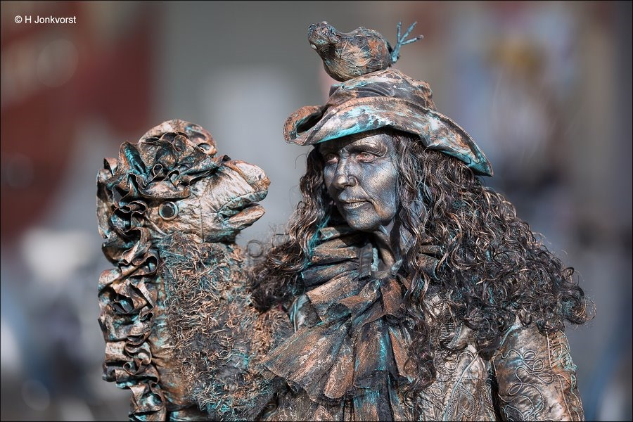 Levende Beelden Emmen, Levende Beelden Emmen 2017, Buikspreker, Levende Beelden, Living Statue, Living Statues, Levend Standbeeld, Levende Standbeelden Emmen
