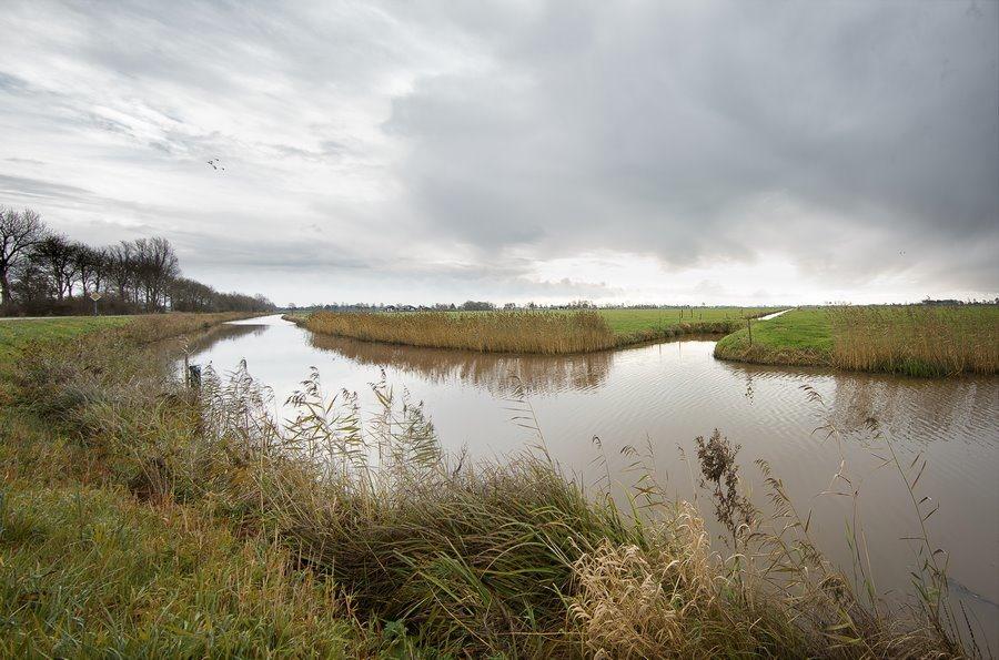 Staphorst, Conradskanaal, Conradsweg, Staphorsterveld, Landschap, Uitgestrekt Landschap, groothoekperspectief, Canon EF 14mm f2.8 L USM II