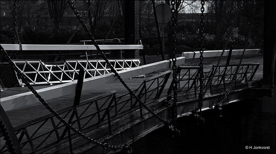 Kettingbrug, Dubbele Ophaalbrug, Katerveerdijk, Katerveersluis, Katerveersluis Zwolle, Zwolle, Idyllisch pareltje, bijzondere trouwlocatie, oude ophaalbrug, mooiste plekjes van Zwolle