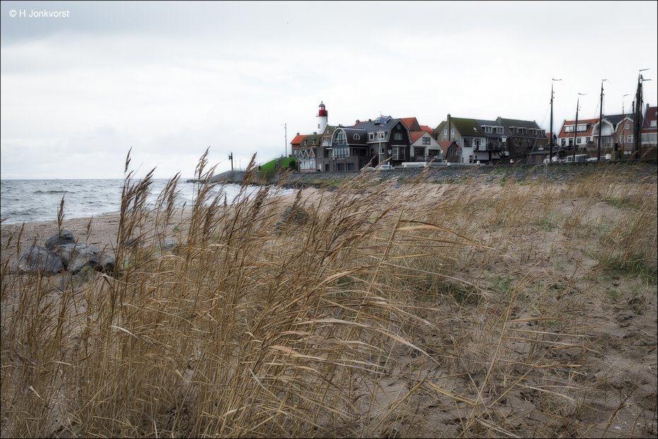 Urk, Urk aan het IJsselmeer, Urk Strand, Vuurtoren, Vuurtoren Urk, Halmen, Landschap, Landschapsfotografie, Fujinon XF 16-55mm F2.8 R Lm Wr