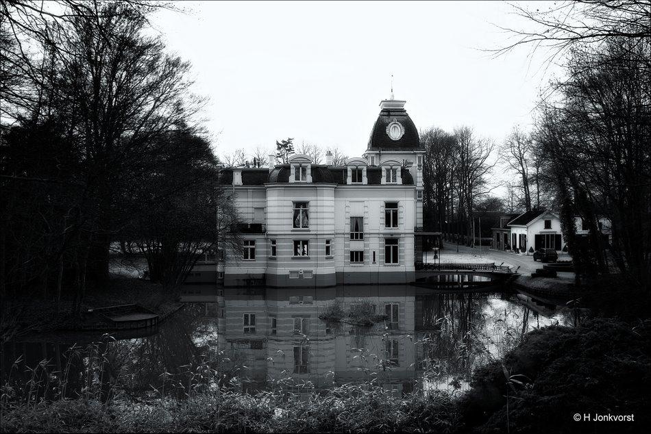 Droomhuis, Spookhuis, sprookjeskasteel, spookslot, landschap, architektuur, kasteel, Herenhuis