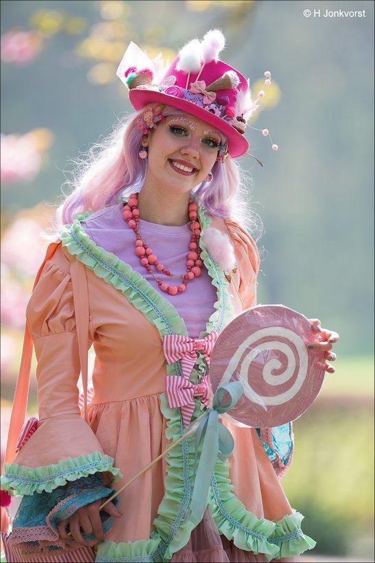 Elfia, Elfia 2018, Elfia Haarzuilens, Elfia Haarzuilens 2018, Fantasy Festival, Elf Fantasy Fair, Kasteel de Haar, Portret, Portretfotografie, Gekostumeerd Feest, Cosplay, Cosplayer, sturdy lollypop