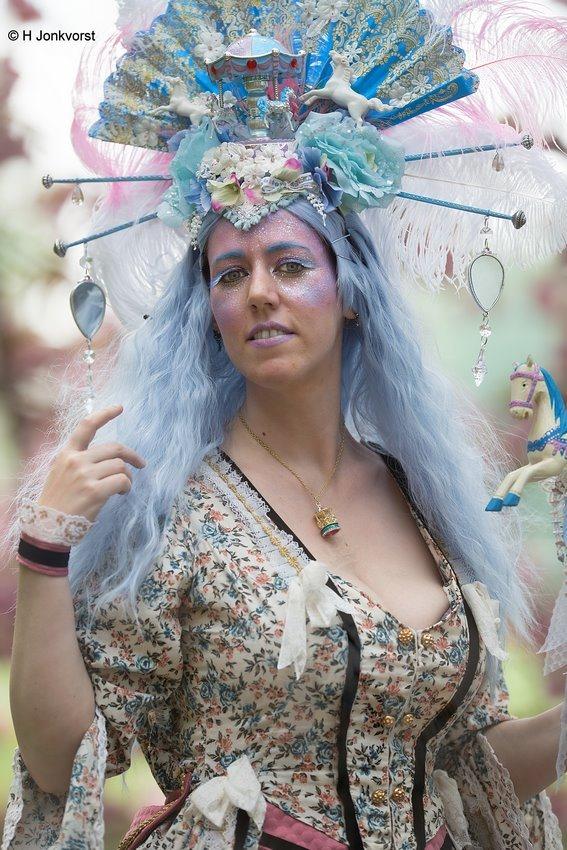 Elfia, Elfia 2018, Elfia Haarzuilens, Elfia Haarzuilens 2018, Fantasy Festival, Elf Fantasy Fair, Kasteel de Haar, Portret, Portretfotografie, Gekostumeerd Feest, Cosplay, Living Art, Aukje van Dijk, Creative Grime