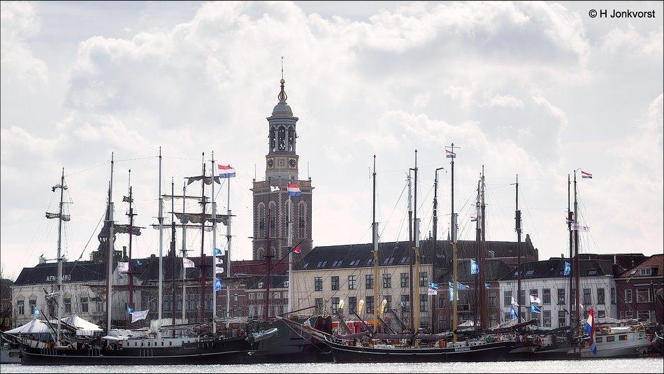 Sail Kampen 2018, Sail Kampen, Sail Kampen tall ships, Sail Kampen historische schepen, historische viermaster, authentieke viermaster, Fotografie, Foto, Photo, Openluchtmuseum, Nautisch Evenement