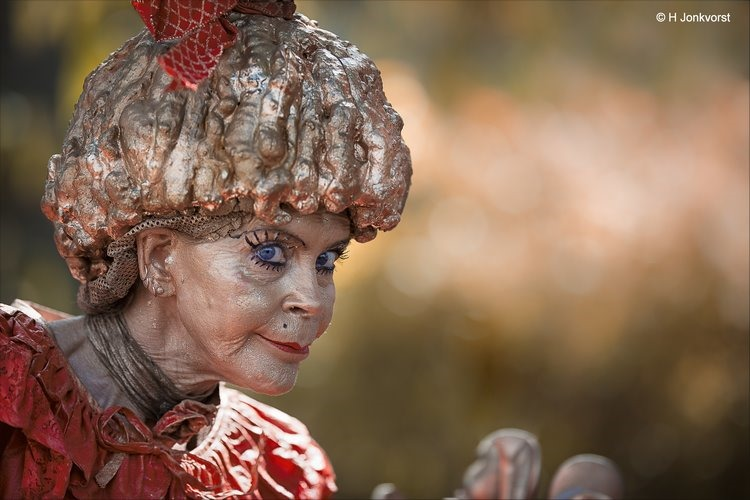stiefkiekn, stiefkieken Westerbork, Stiefkieken Drenthe, stiefkiekn 2018, stiefkieken Westerbork 2018, Levende beelden Westerbork, Levende beelden Westerbork 2018, Living Statues, Miss Baksel, Foto
