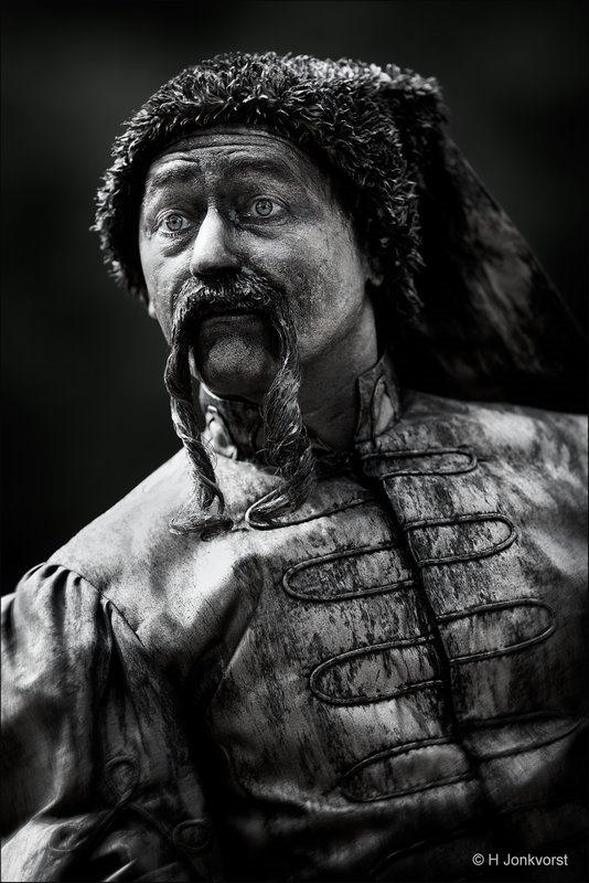 Beeldschoon Rolde, Beeldschoon Rolde 2018, Cossack, Kozak, Levende Beelden, Levende Beelden Rolde, Living Statues, Living Sculptures, Levende beelden Fotograferen, Fotografie, Foto