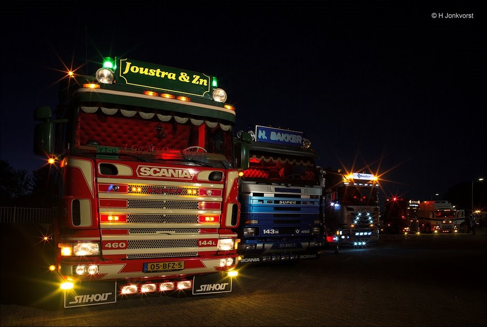 Nacht van de Truckers, Staphorst, Truckersdag Staphorst, Truckersdag Staphorst 2018, Truckersdag, Trucks, Nachtfotografie, Fotografie, Foto