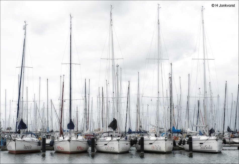 Oh La La, Flevo Marina, Flevo Marina Jachthaven, Flevo Marina Watersportcentrum, Lelystad Jachthaven, Zeilboten, Zeilschepen, Wedstrijdzeilers, Fotografie, Foto