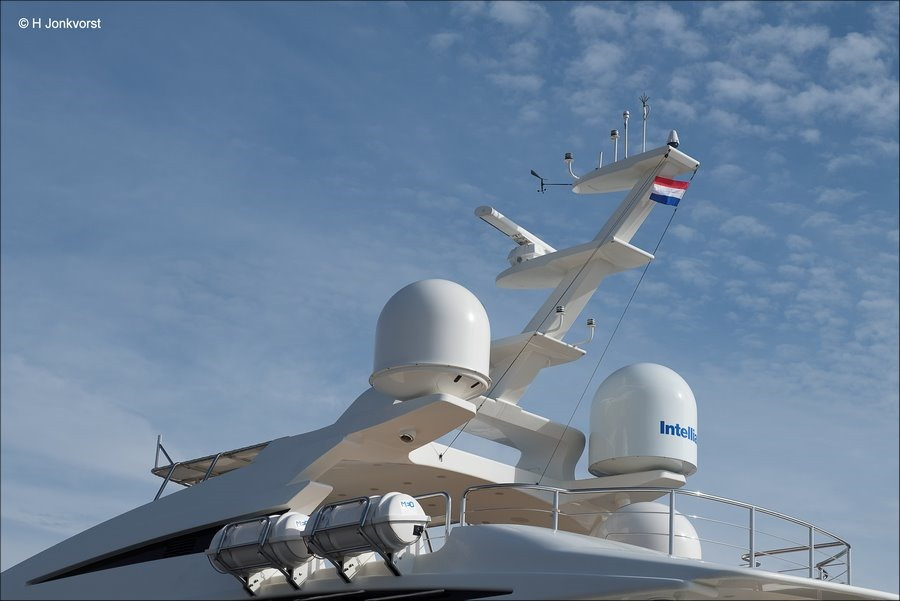 Superyacht Africa, Superjacht Afrca, Bovenbouw, Topje van de ijsberg, Urk, Urk Haven, Luxe Jacht, Superjacht, Superyacht, Luxe Yacht, Fotografie, Foto