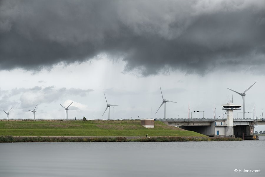 De duistere kantjes, Ketelbrug, Ketelmeer, Donkere lucht, Dreigende Lucht, Landschap, Fotografie, Foto