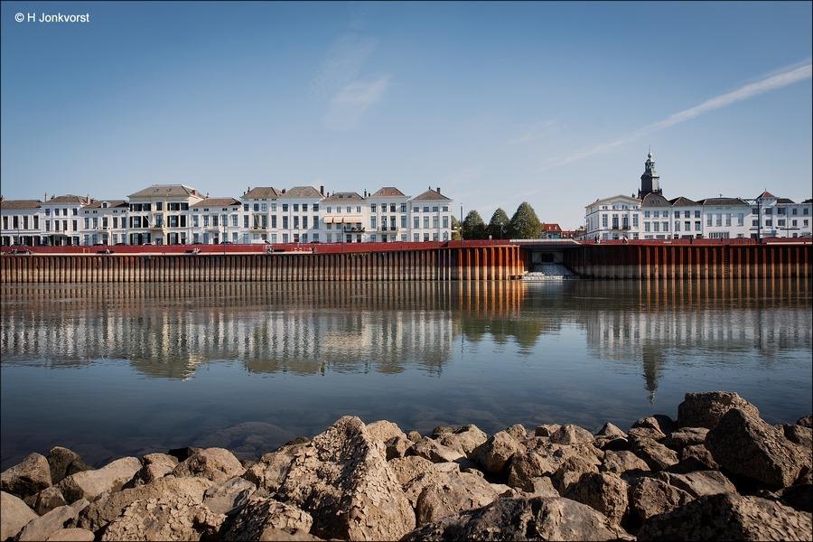 Skyline van Zutphen, Zutphen aan de IJssel, Zutphen, Zutphen uitzicht IJssel, Mooi Zutphen, zutphen Architectuur, rijke historie, Fotografie, Foto