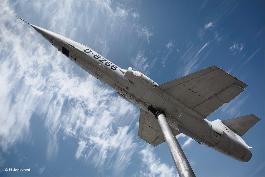 Starfighter F104, Straaljager, D-268, Koninklijke Luchtmacht, Laagvlieger, laagvliegend, laagvliegende straaljager, Fotografie, Foto, Fujifilm XT2, Canon 5D MK III