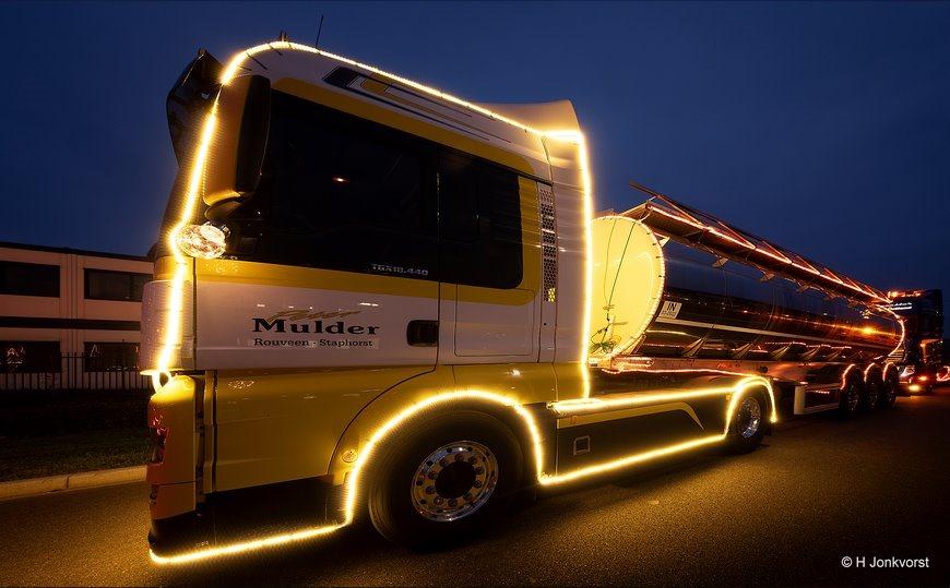 Trucks by night 2018, Trucks by night, Trucks by night Staphorst 2018, Trucks by night Staphorst, Fujinon XF 8-16mm F2.8 R LM WR, Fujifilm XT2, Chauffeursvereniging de Lichtmis