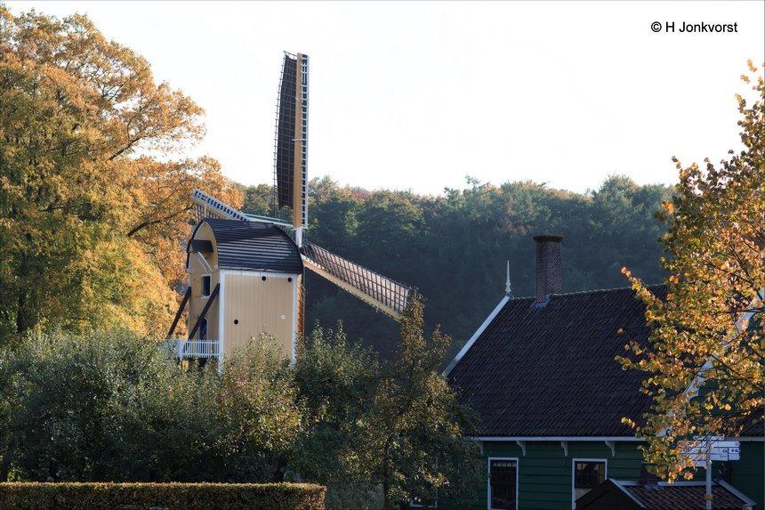 Holland molenland, Huizermolen, korenmolen, Molen openluchtmuseum, Nederlands Openluchtmuseum, Openluchtmuseum, Openluchtmuseum Arnhem, Openluchtmuseum Arnhem Herfst, Fotografie, Foto, Photography, Photo