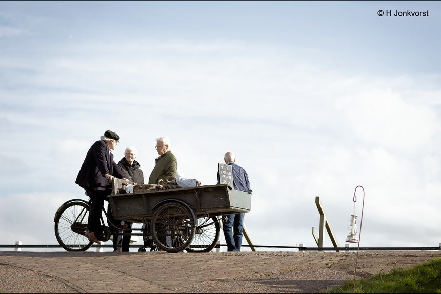 voddenboer, voddenman, lompenboer, Zuiderzeemuseum, Zuiderzee museum, Zuiderzeemuseum Enkhuizen, openluchtmuseum, oude beroepen, oude ambachten, hergebruiken, recyclen, oude kleding opkopen, Canon eos R, Canon EF 85mm f1.2