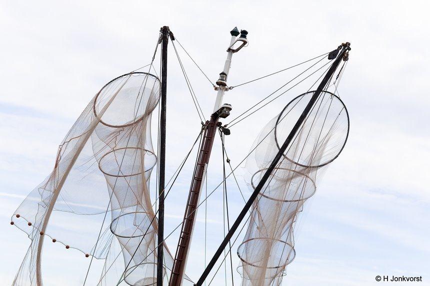 Netwerk, Netwerken, visnet, oude visnetten, visnet vroeger, visvangst, sleepnet, visboot, Canon eos R, Canon EF 85mm f1.2L II USM, Fotografie, Foto, Photography, Photo